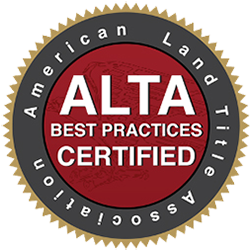 ALTA Best Practices Certified Title Company